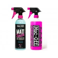 Muc-Off Bike Cleaner & Matt Finish Detailer Pack