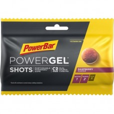 PowerBar PowerGel Shots Raspberry